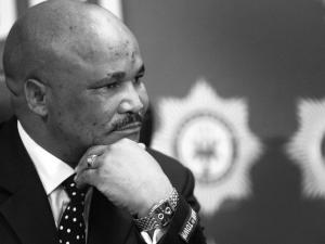 Major-General Phumzo Gela held a special press briefing at the SAPS office in Parkwood, Joburg, in connection with the recent spate of blue-light hijackings by men in police uniform