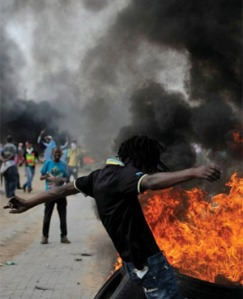 Sasolburg protest flares up again