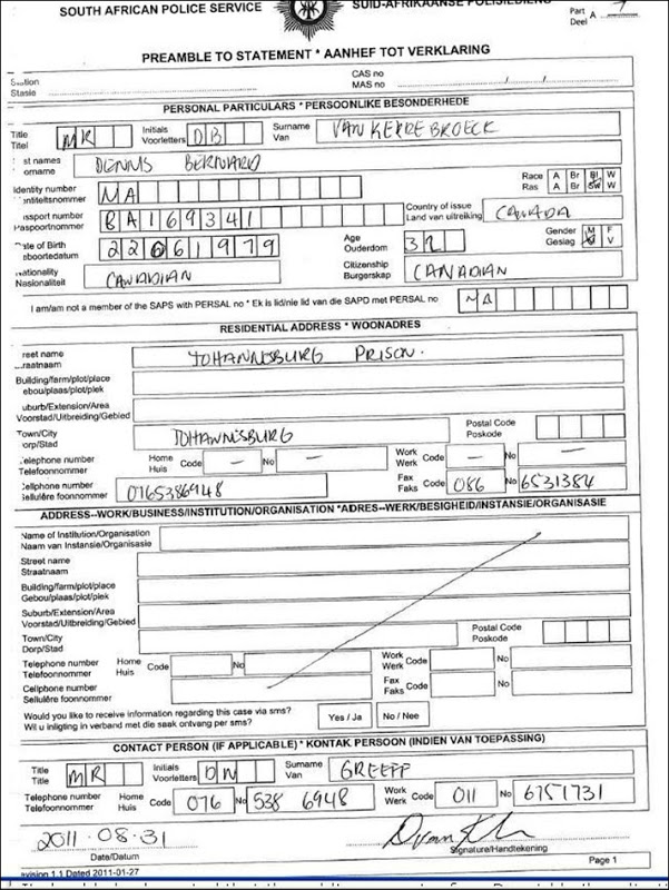 how to get a police clearance certificate in south africa